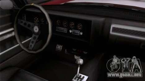 GTA 5 Invetero Coquette Classic HT para la visión correcta GTA San Andreas