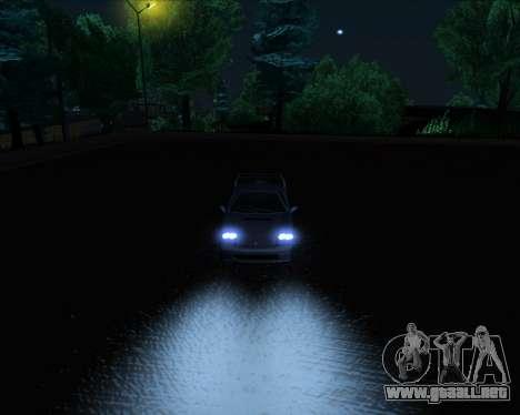 ENB Series New HD para GTA San Andreas novena de pantalla