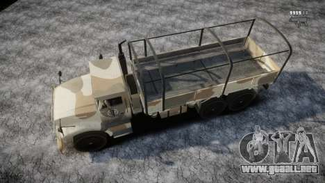 GTA 5 Barracks v2 para GTA motor 4