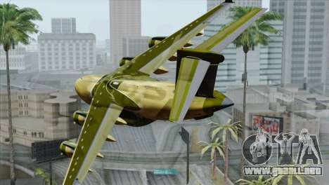 C-17A Globemaster III para GTA San Andreas left