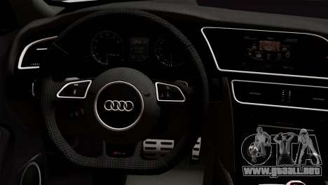 Audi RS4 Avant B8 2013 v3.0 para la visión correcta GTA San Andreas