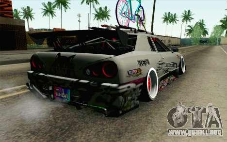 Elegy Modification para GTA San Andreas left