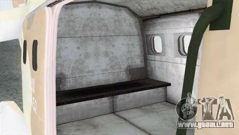 Savage GTA 5 para GTA San Andreas vista hacia atrás