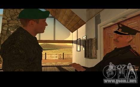 El coronel del ejército ruso para GTA San Andreas sucesivamente de pantalla