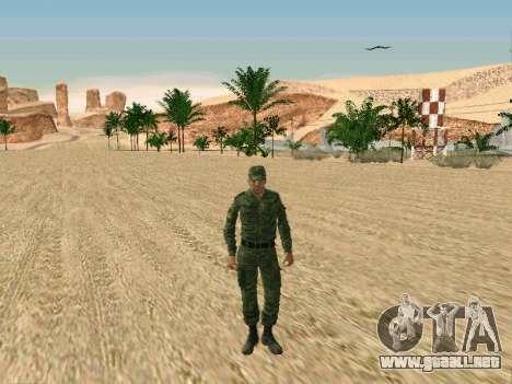 El ejército ruso está en una nueva forma para GTA San Andreas segunda pantalla