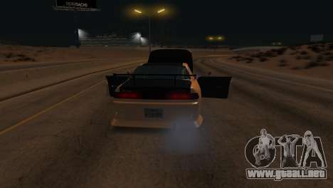 Toyota Mark II para vista inferior GTA San Andreas