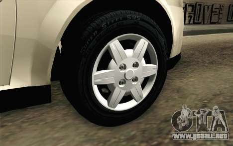 Chevrolet Classic para GTA San Andreas vista posterior izquierda