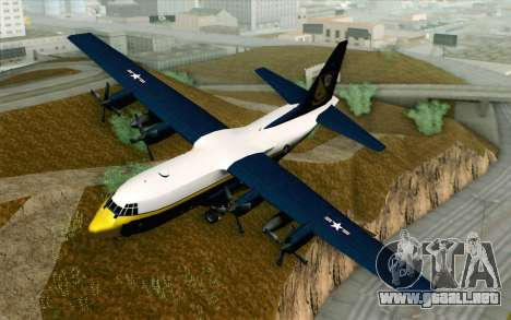 C-130H Hercules Blue Angels para GTA San Andreas