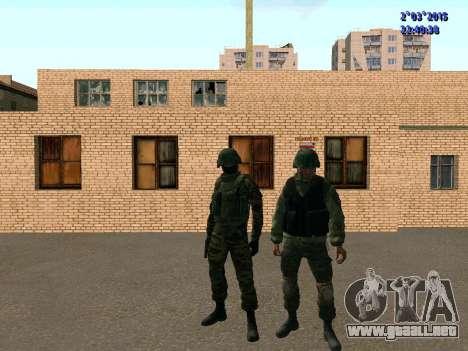 Guerrero batallón de Oriente para GTA San Andreas quinta pantalla