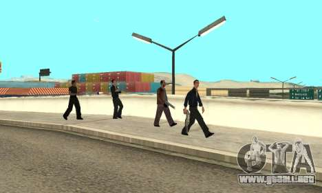 El cambio de las áreas de las pandillas y sus ar para GTA San Andreas séptima pantalla