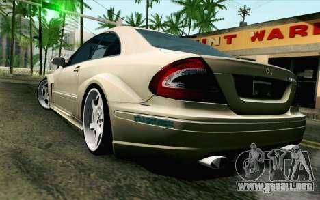 Mercedes-Benz CLK DTM 2004 para GTA San Andreas left