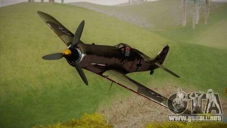 FW 190 D-11 Red 4 JV44 para GTA San Andreas