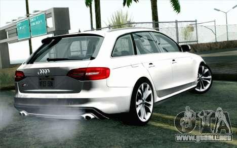 Audi S4 Avant 2013 para GTA San Andreas left