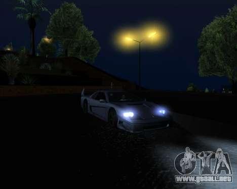 ENB Series New HD para GTA San Andreas twelth pantalla
