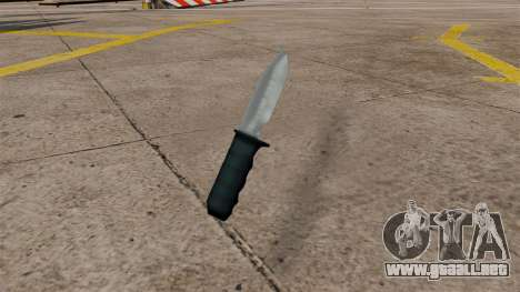 Nuevo cuchillo para GTA San Andreas segunda pantalla