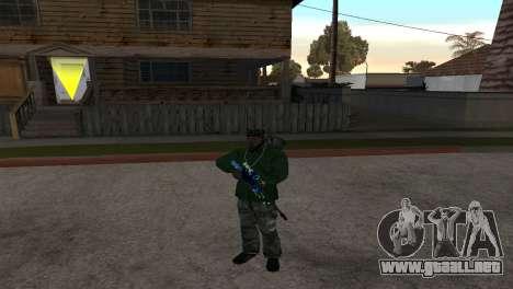AWP DragonLore из CS:GO para GTA San Andreas segunda pantalla