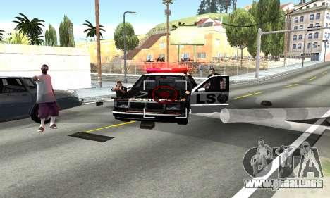 BeautifulDark ENB para GTA San Andreas segunda pantalla