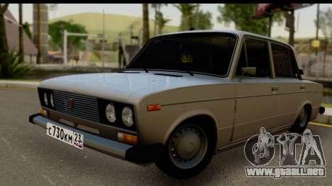 ВАЗ 2106 Baja Clásico para GTA San Andreas