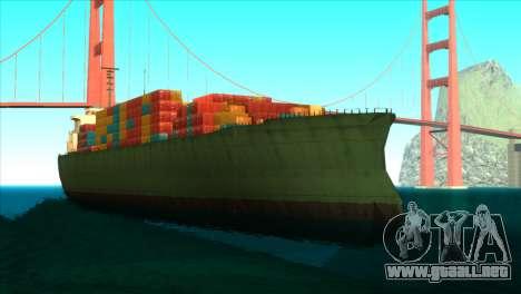 ENBSeries para PC débil v5 para GTA San Andreas octavo de pantalla