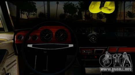 ВАЗ 2106 Baja Clásico para visión interna GTA San Andreas