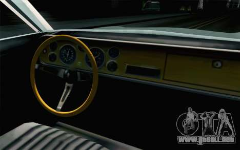 Renault Torino para la visión correcta GTA San Andreas