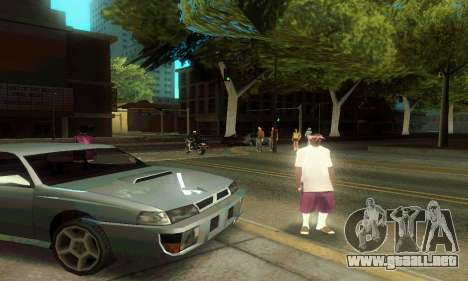 ENB Series Colorful for Low PC para GTA San Andreas sucesivamente de pantalla