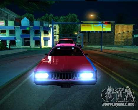 ENB GreenSeries para GTA San Andreas twelth pantalla