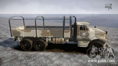 GTA 5 Barracks v2 para GTA 4 interior