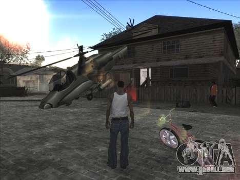 Coche Personal de CJ en Grove Street para GTA San Andreas segunda pantalla