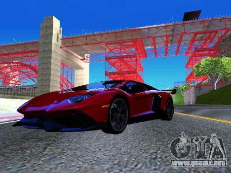 Lamborghini Aventador Novitec Torado para la visión correcta GTA San Andreas
