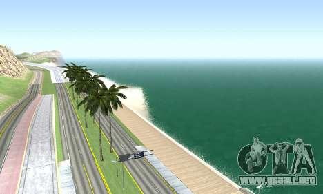 BeautifulDark ENB para GTA San Andreas octavo de pantalla