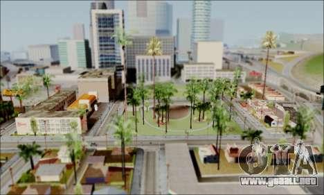 ENB para PC de bajos para GTA San Andreas segunda pantalla