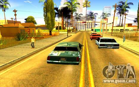 Colorful ENBSeries para GTA San Andreas segunda pantalla