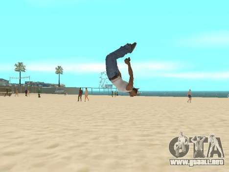 Parkour mod v2.0.4 para GTA San Andreas
