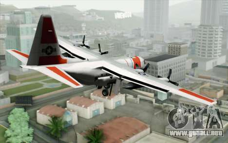 C-130H Hercules Coast Guard para GTA San Andreas left