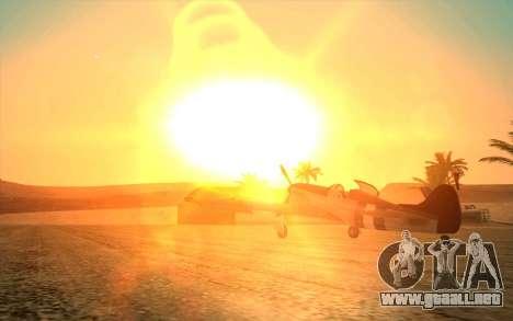 GTA 5 ENB by Dizz Nicca para GTA San Andreas segunda pantalla