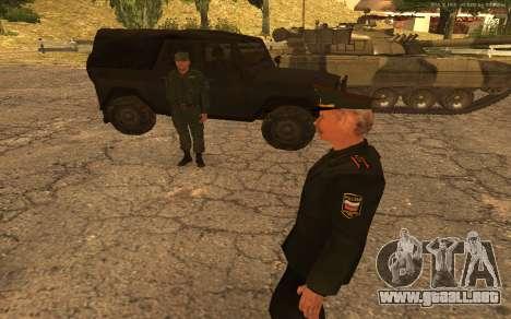 El coronel del ejército ruso para GTA San Andreas sexta pantalla