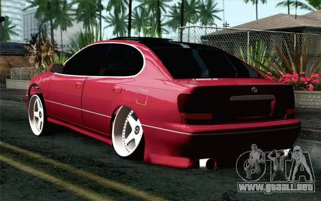 Toyota Aristo para GTA San Andreas left