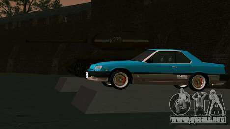 Nissan Skyline 2000 Turbo Intercooler RS-X kouki para vista lateral GTA San Andreas