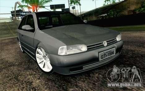 Volkswagen Golf GL para GTA San Andreas
