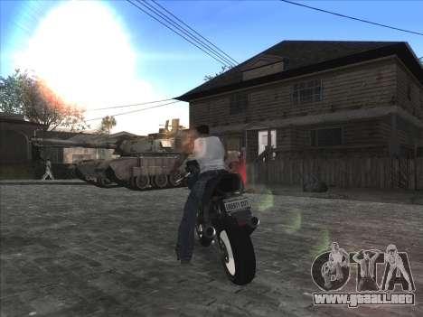 Coche Personal de CJ en Grove Street para GTA San Andreas quinta pantalla