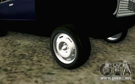 VAZ 21011 Hobo para GTA San Andreas vista posterior izquierda