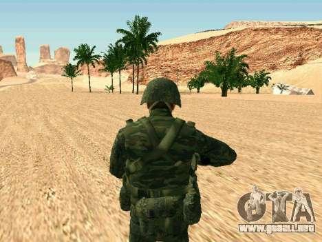El ejército ruso está en una nueva forma para GTA San Andreas quinta pantalla