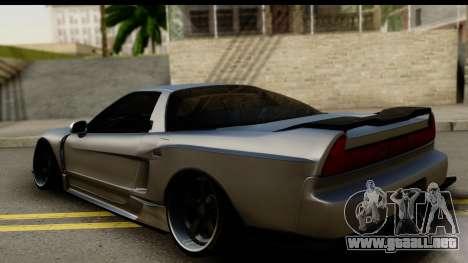 Honda NSX Street Killer para GTA San Andreas left