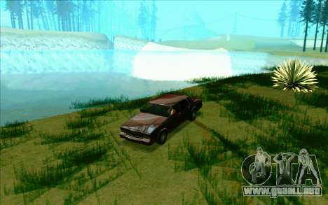 Tini ENB V2.0 Last para GTA San Andreas sucesivamente de pantalla