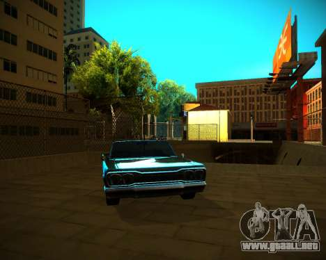 ENB GreenSeries para GTA San Andreas octavo de pantalla