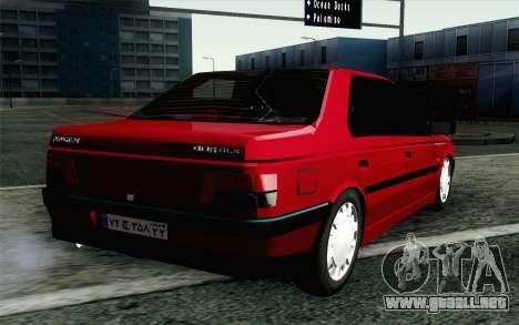 Peugeot 405 Tuning para GTA San Andreas left
