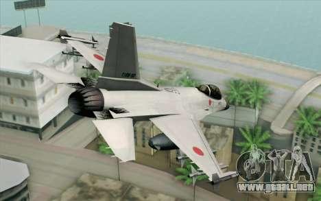 Mitsubishi F-2 White JASDF Skin para GTA San Andreas left