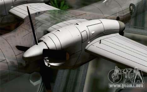 AN-32B Croatian Air Force Closed para la visión correcta GTA San Andreas