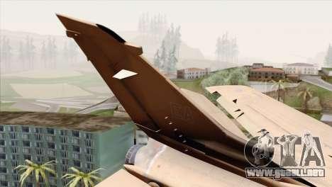 Tornado MIG Eater para GTA San Andreas vista posterior izquierda